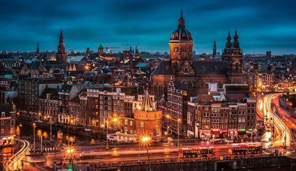 in welke steden wonen expats